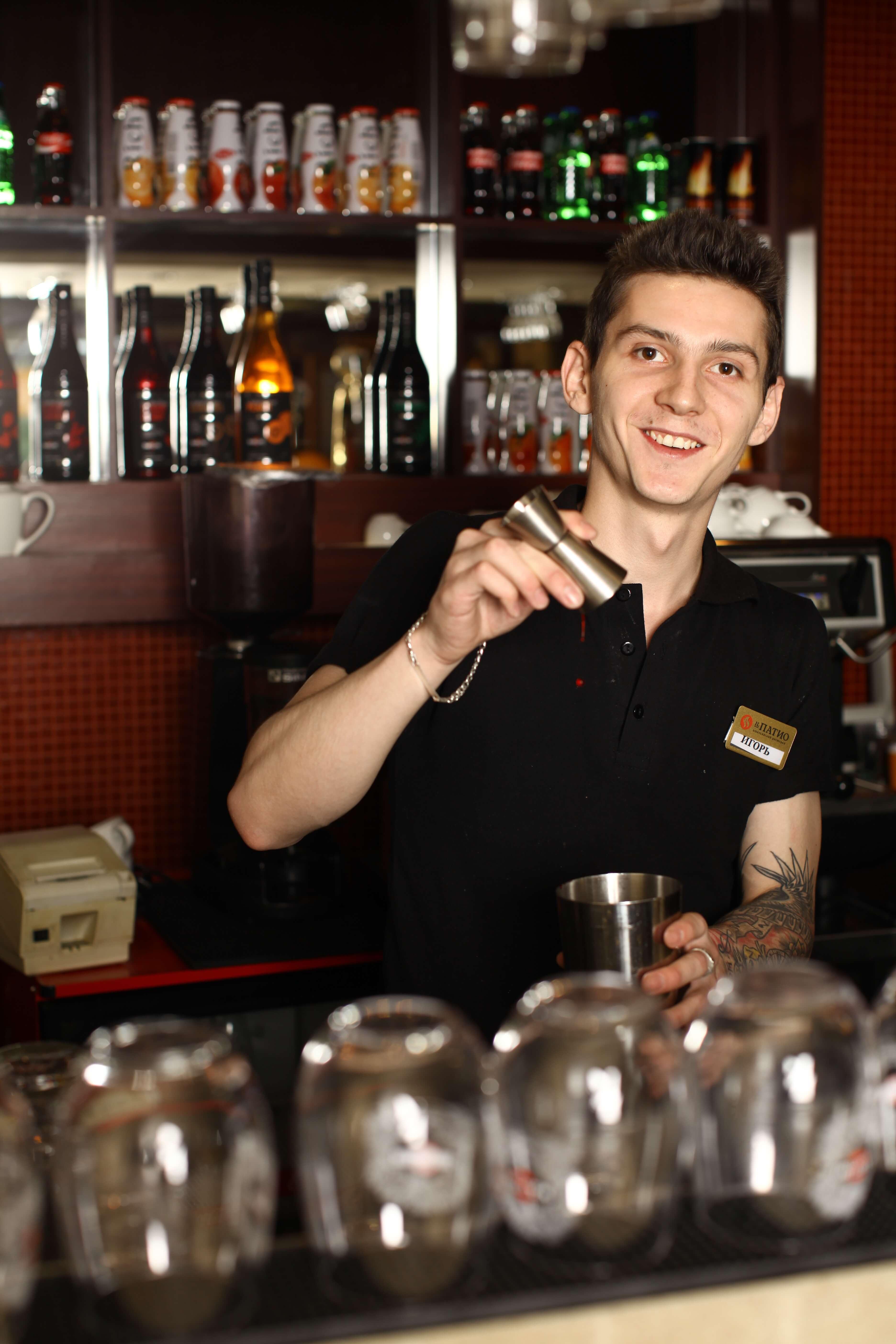 Работа барменом с обучением в нижнем новгороде
